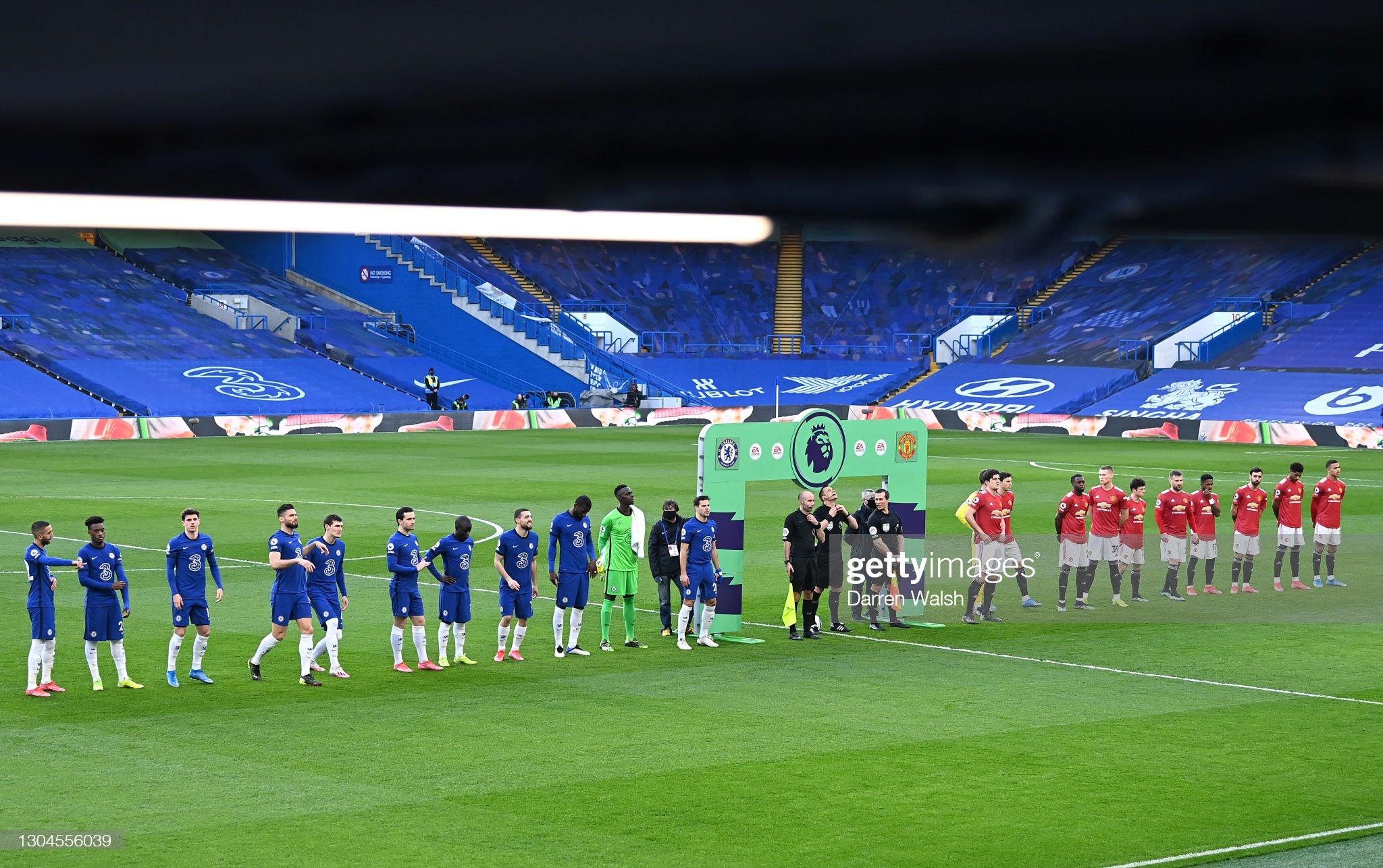 Chelsea v Manchester United - Premier League : ニュース写真