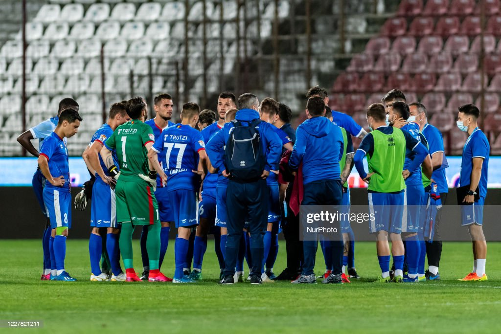 CFR Cluj v FC Botosani - Romania Liga 1 : News Photo