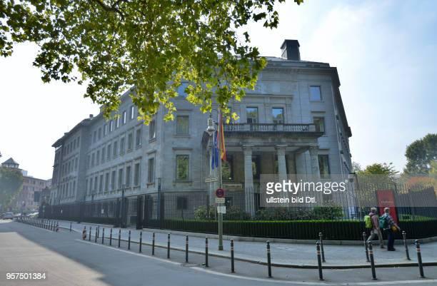 Botschaft Spanien, Lichtensteinallee, Tiergarten, Mitte, Berlin, Deutschland