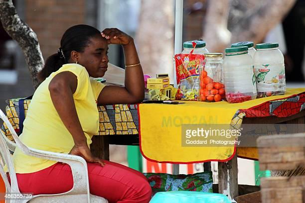 Botswana: Treats and Sweets Vendor in Kasane