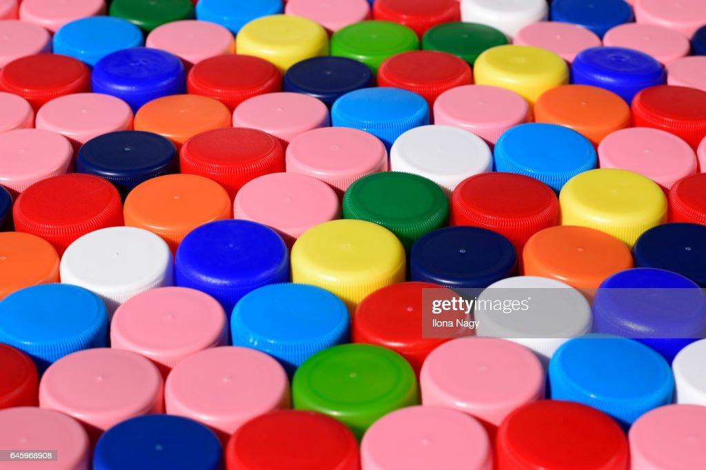 Bottle caps : Stock Photo