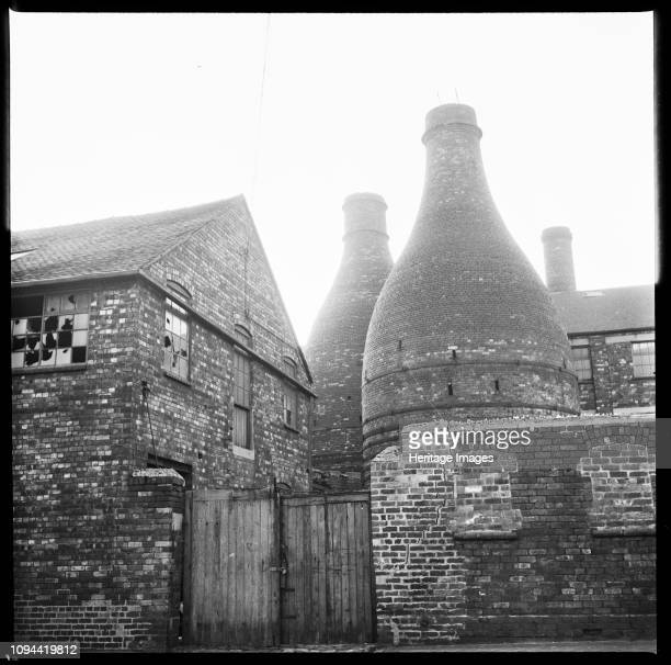 Bottle kilns StokeonTrent Staffordshire 19651968 Bottle kilns at a derelict pottery works This site is unidentified but is likely to be around...