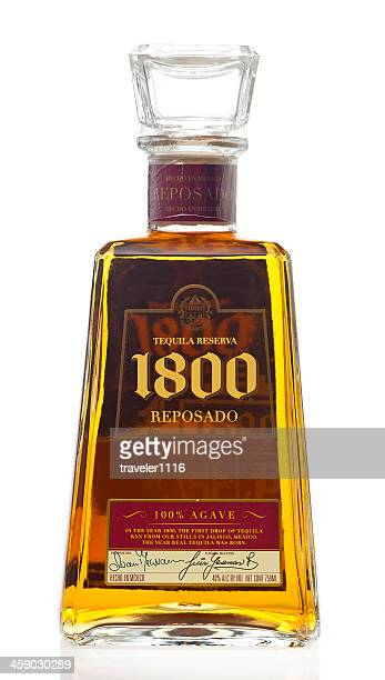Bottle Of 1800 Tequila Reposado