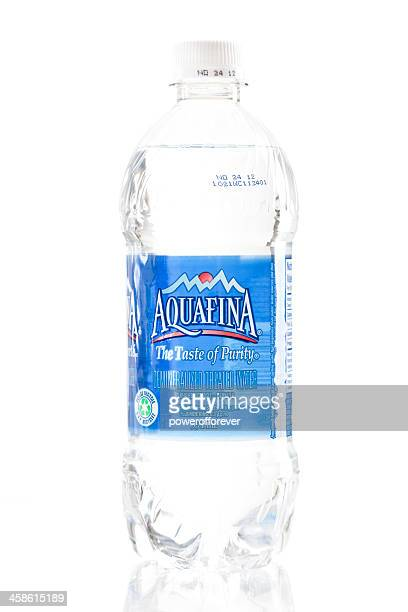 Bottle of Aquafina Water
