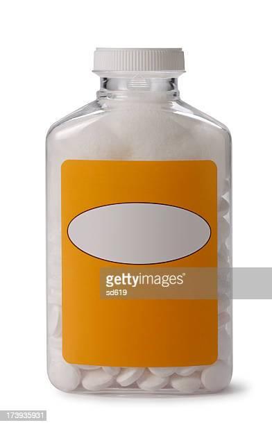 Bouteille de l'aspirine
