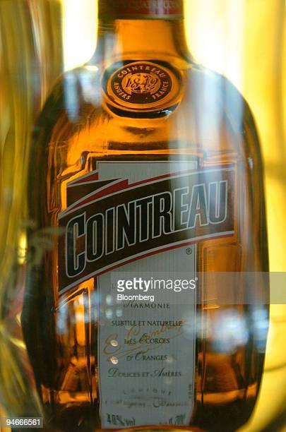 "Bottle of Cointreau liquor is seen in the ""Au Bureau"" bar in Paris, France, Thursday, April 20, 2006. Remy Cointreau SA, the maker of Piper-Heidsieck..."