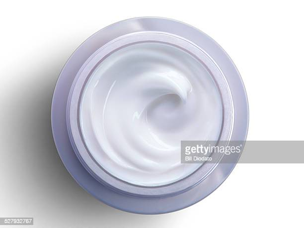 bottle of cream on white - cosmetics stock pictures, royalty-free photos & images