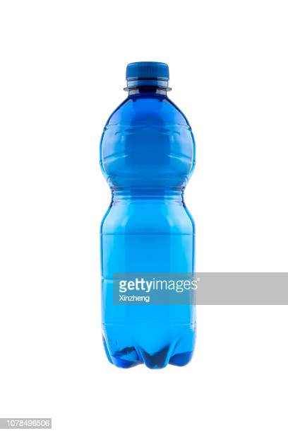 bottle of mineral water - fles stockfoto's en -beelden