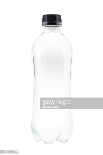 bottle of mineral water - flasche stock-fotos und bilder