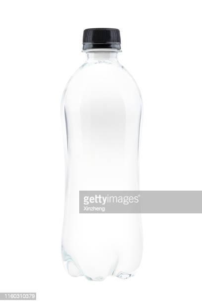 bottle of mineral water - botella fotografías e imágenes de stock