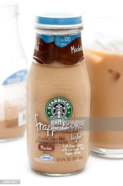 Bottle of Mocha Frappuccino Light