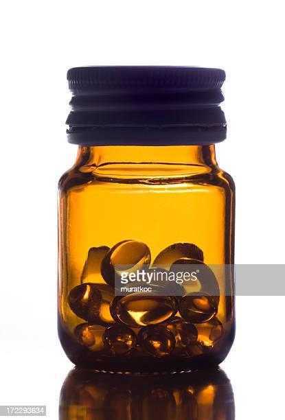 Eine Flasche Pillen