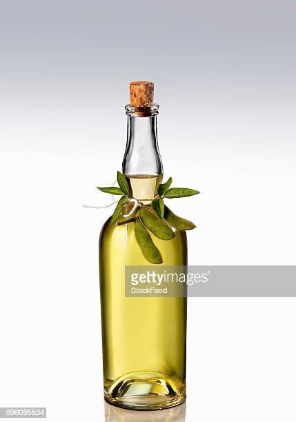 A bottle of soy oil