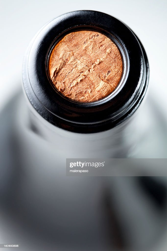 Bottle of wine : Stock Photo