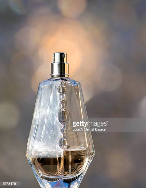 Bottle of woman's perfume