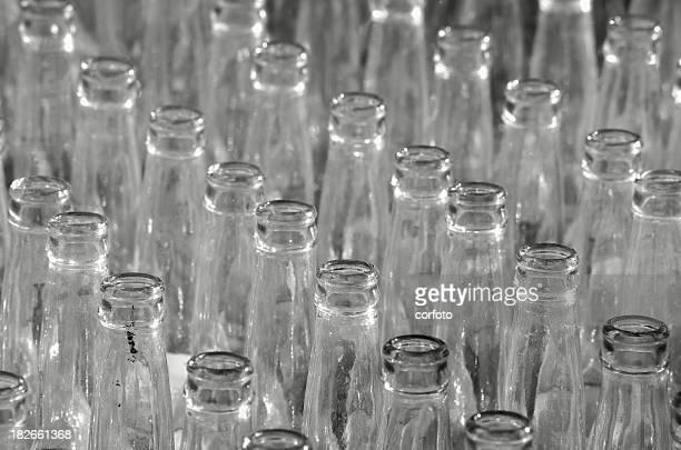 Flasche-Parade