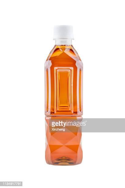 bottled tea - 冷たい飲み物 ストックフォトと画像