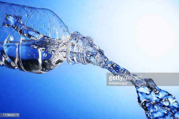 Bottled Water in Motion