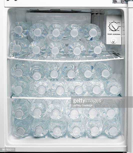 Bottled water in Refrigerator