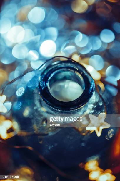 Bottles abstract background