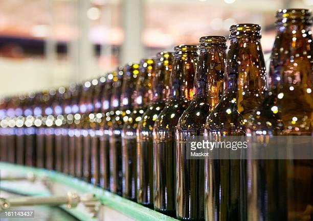 Bottles in a row