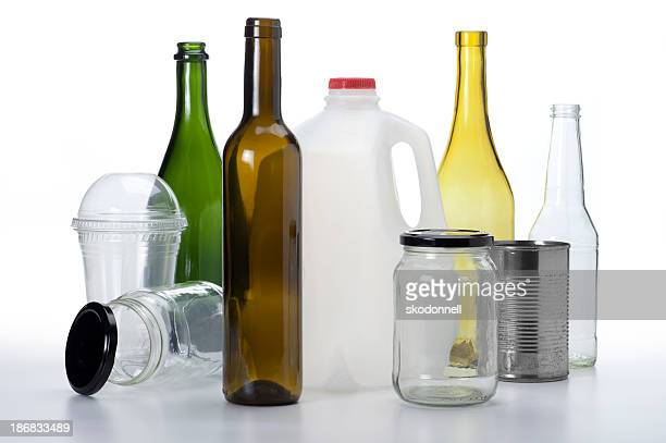 Bottles, Jars and Cans for Recyling