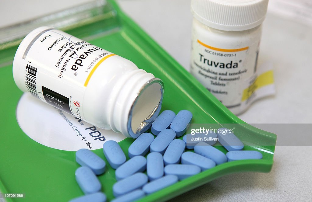 Daily Antiretroviral Pill Found To Protect Healthy From AIDS Transmission : News Photo