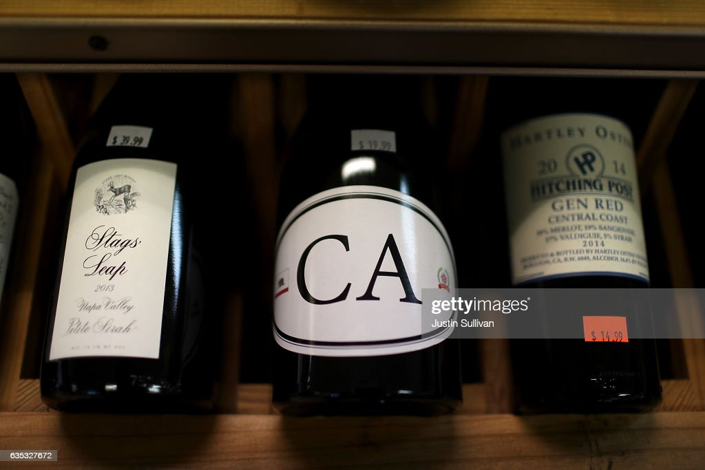 U.S. Wine Exports Set Record For Year, Led By California Wine : News Photo