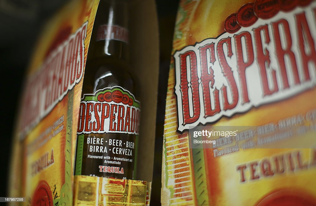 Bottles Of Desperados Tequila Flavored Beer Produced By Heineken Nv News Photo Getty Images