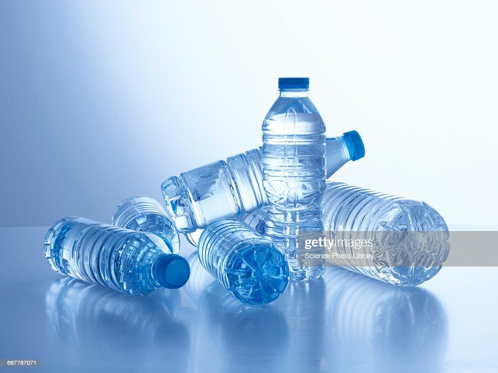 Bottles of mineral water : Stock Photo