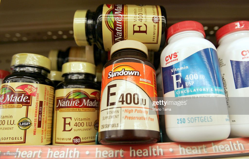 New Study Reports Large Doses of Vitamin E May Be Harmful : News Photo