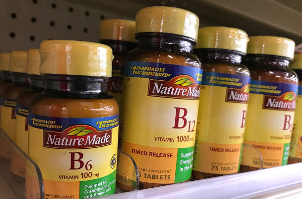 new study shows link between vitamin b6 and b12 supplements and