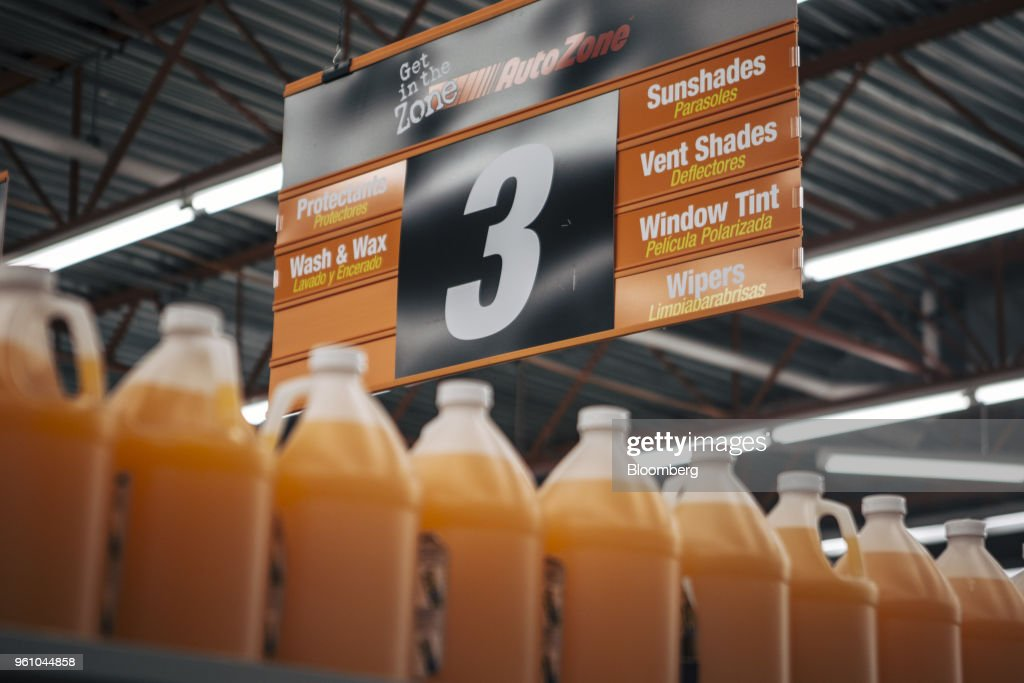 Inside An AutoZone Inc. Store Ahead Of Earning Figures