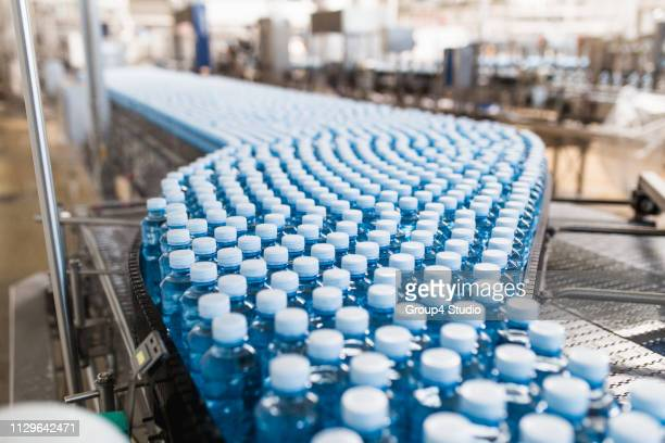 bottling plant - plastic stock pictures, royalty-free photos & images
