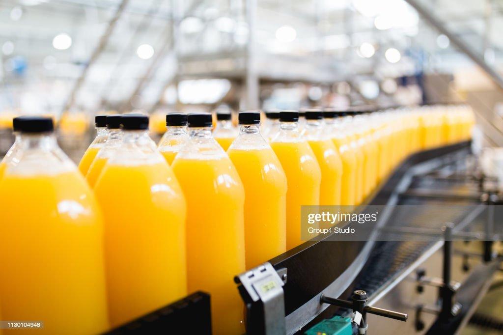 Bottling plant : Stock Photo