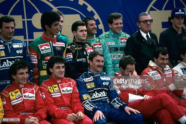 Alain Prost Jean Alesi Nigel Mansell Gerhard Berger Emanuele Pirro Top Ricardo Patrese Aguri Suzuki Bertrand Gachot Gianni Morbidelli Yvan Capelli...