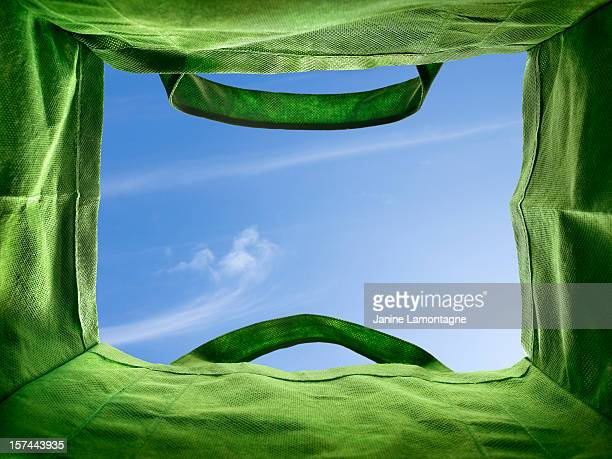 bottom of a re-usable bag - reusable bag stock pictures, royalty-free photos & images