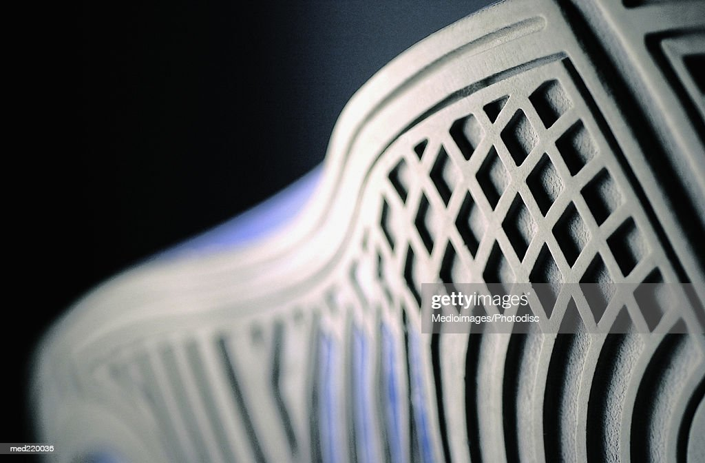 Bottom sole of an athletic shoe : Stock Photo