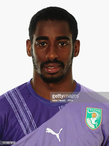 Boubacar Barry of Ivory Coast poses for a portrait during the 2010 FIFA World Cup on June 11 2010 in Vanderbijlpark South Africa