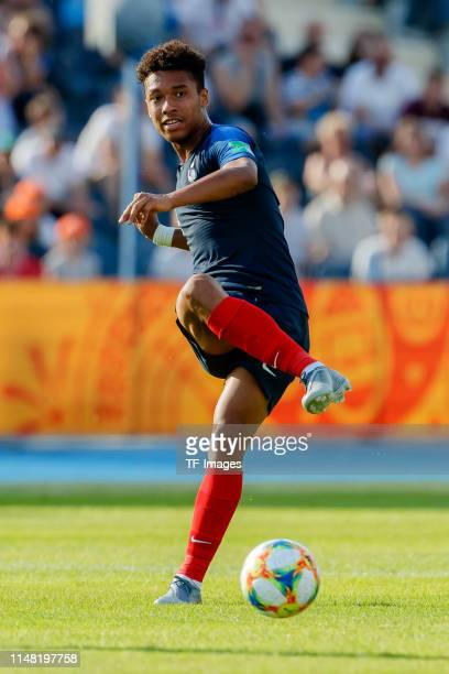 Boubacar Kamara of France controls the ball during the 2019 FIFA U-20 World Cup Round of 16 match between France and USA at...