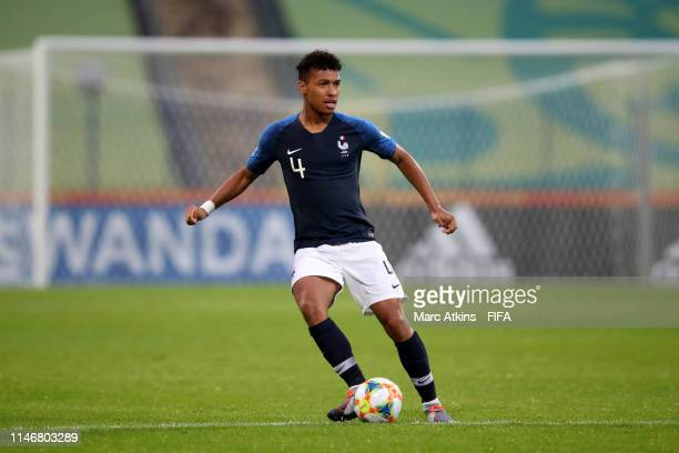 Boubacar Kamara of France during the 2019 FIFA U-20 World Cup group E match between Panama and France at Bydgoszcz Stadium on May 28, 2019 in...