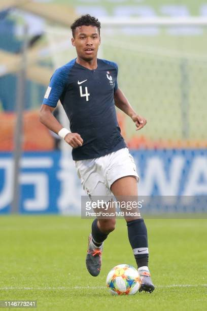 Boubacar Kamara of France in action during the FIFA U20 World Cup match between Panama and France on May 28 2019 in Bydgoszcz Poland