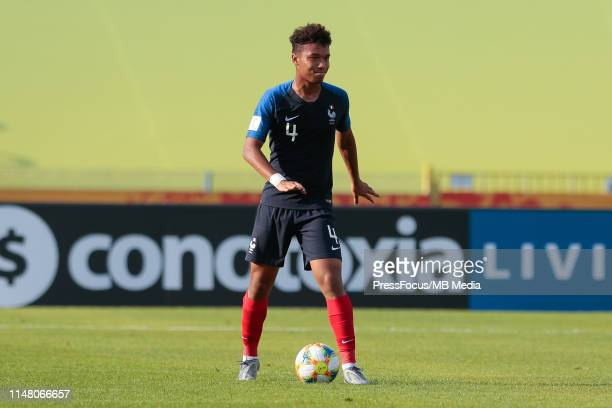 Boubacar Kamara of France in action during the FIFA U20 World Cup match between France and USA on June 4 2019 in Bydgoszcz Poland