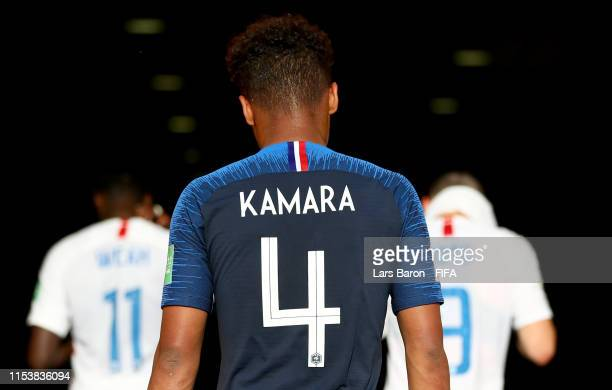 Boubacar Kamara of France is seen during the 2019 FIFA U-20 World Cup Round of 16 match between France and USA at Bydgoszcz Stadium on June 04, 2019...