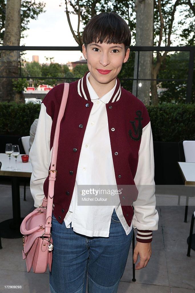 Bouchra Jarrar attends the Chambre Syndicale de la Haute Couture cocktail party at Palais De Tokyo on July 4, 2013 in Paris, France.