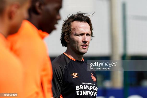 Boudewijn Zenden of PSV during the Training Camp PSV in Qatar at the Aspire Zone on January 7 2020 in Doha Qatar