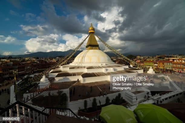 Boudhanath Stupa View - Kathmandu, Nepal