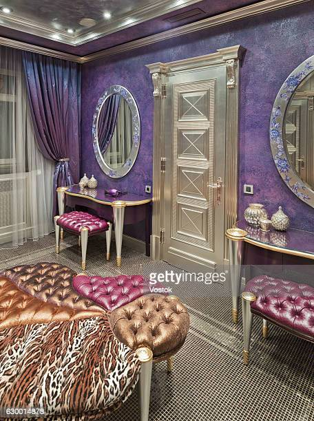 Boudoir in a luxury private house