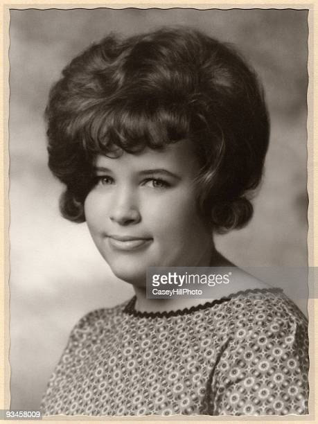 bouffant, 1963 - beehive hair stock pictures, royalty-free photos & images