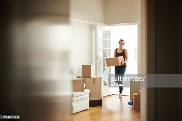 i bought the house of my dreams - unpacking stock pictures, royalty-free photos & images